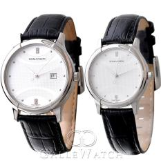 Đồng hồ đôi Romanson TL1213MWWH + TL1213LWWH