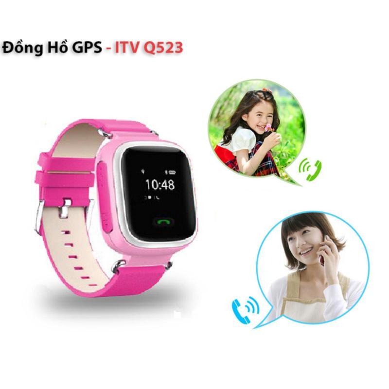 Đồng Hồ Gps Định Vị Trẻ Em Itv Q523 (Hồng) bán chạy