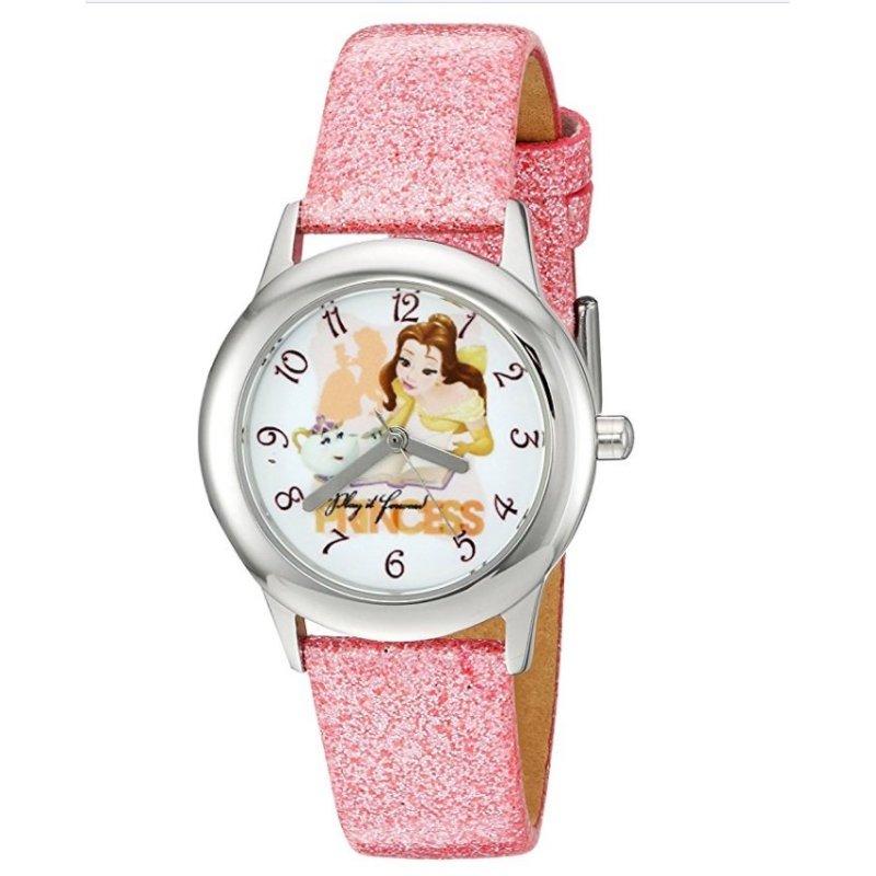 Đồng Hồ Kháng Nước Bé Gái Disney Beauty And Beast Analog Display Analog Quartz Pink Watch (Mỹ) bán chạy