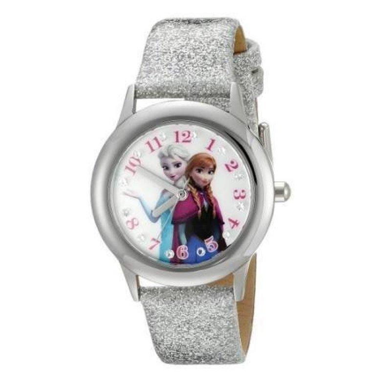 Đồng hồ kim bé gái dây nhựa Disney Infinity Kids Elsa Anna (Bạc). bán chạy