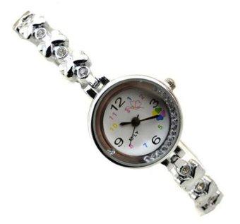Đồng hồ lắc tay nơ xinh dây kim loại