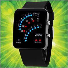 Đồng hồ Led nam nữ SKMEI chống nước 0890F (Đen)