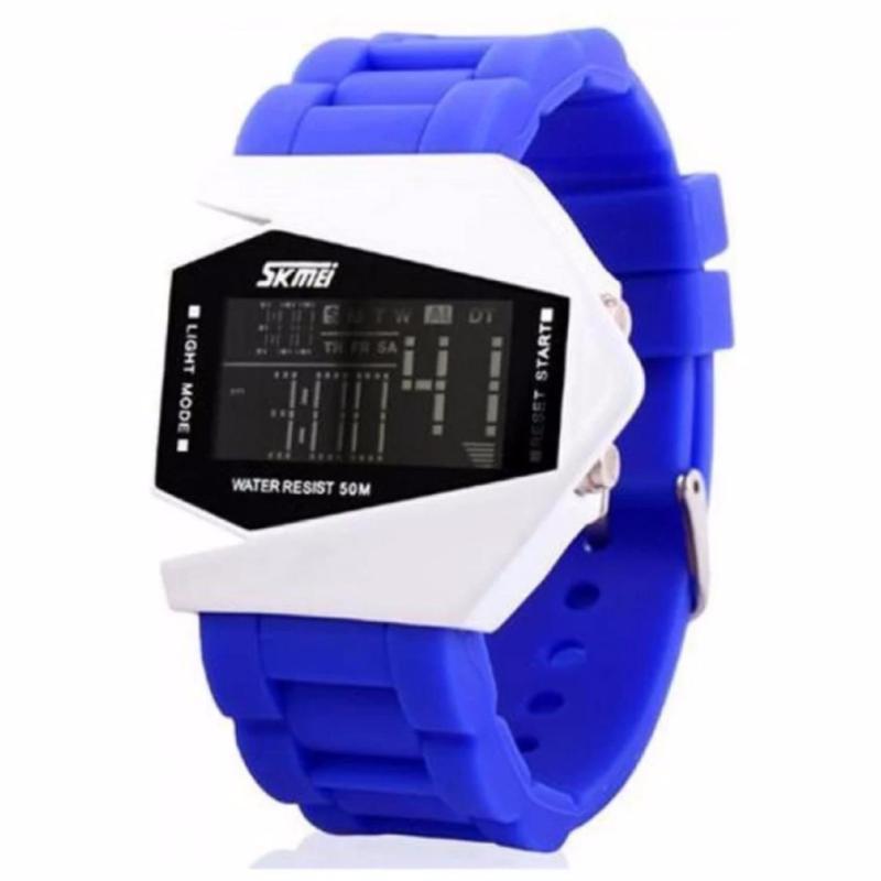 Đồng hồ LED SKMEI trẻ em 0817b màu xanh bán chạy