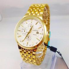 Đồng hồ nam Baishuns màu vàng