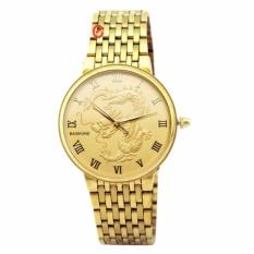 Đồng hồ nam Baishuns màu vàng mặt rồng – N1276