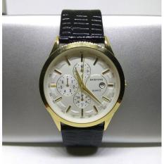 Đồng hồ nam Baishuns Q7 dây da màu đen cực đẹp