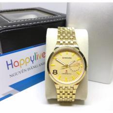 Đồng hồ nam baishuns Q7 mặt màu vàng cực đẹp
