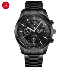 Đồng hồ nam BOSCK 8251 cao cấp 41mm (Đen) + Tặng hộp đồng hồ thời trang & Pin
