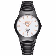 Đồng hồ nam BOSCK BK7749 dây thép không gỉ cao cấp ( Mặt trắng )