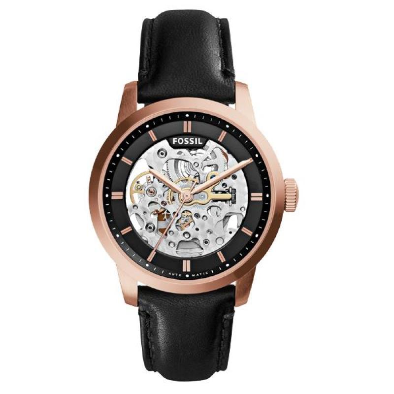 Nơi bán Đồng hồ nam cao cấp dây da Fossil ME3084 (Vàng hồng) - Phân phối chính hãng