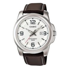 Đồng hồ nam Casio dây da Anh Khuê MTP-1314L-7AVDF