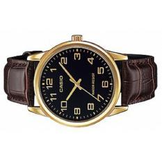 Đồng hồ nam Casio dây da MTP-V001GL-1BUDF