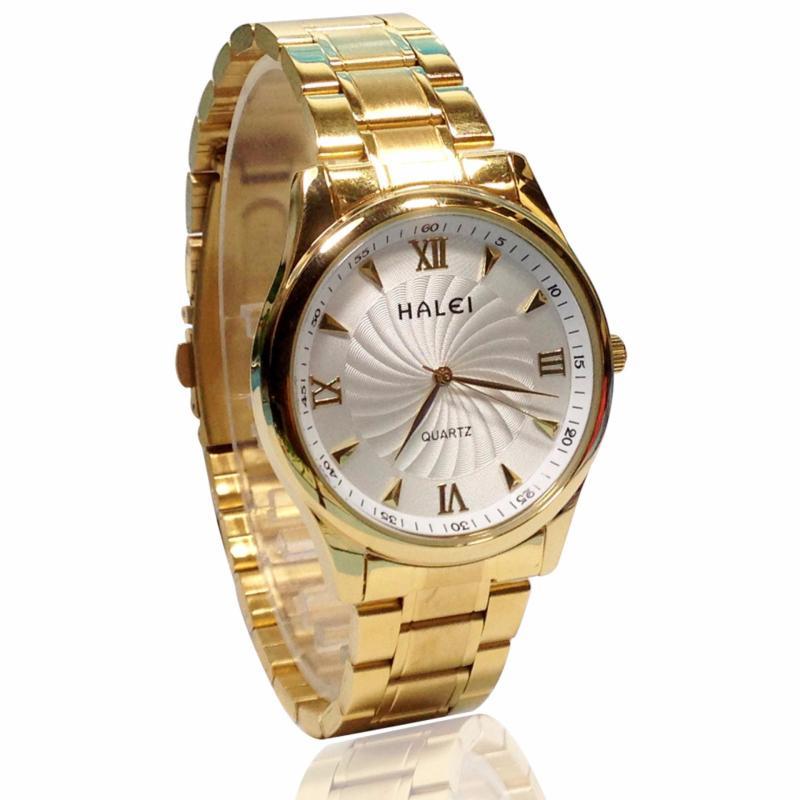Nơi bán Đồng hồ nam chống nước dây thép HALEI 6366G