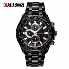 Đồng hồ nam Curren 8023 màu đen cực men