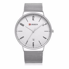 Đồng hồ nam Curren 8257 màu trắng cực chất