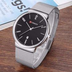 Đồng hồ nam curren siêu mỏng