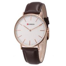 Đồng hồ nam dây da 2 kim mã CURREN CUR2216 (Nâu)
