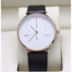 Đồng hồ nam dây da 4 kim SINO 8366 thời trang