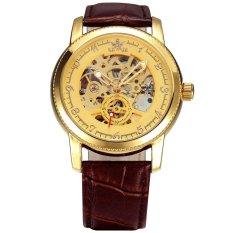 Đồng hồ nam dây Da automatic SEWOR DHSE1238N (Nâu)