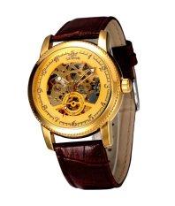 Đồng hồ nam dây Da automatic SEWOR DHSE1239N (Nâu)