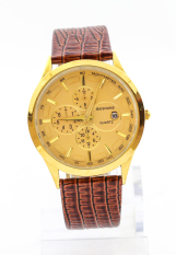 Đồng hồ nam dây da Baishuns SLBS1378