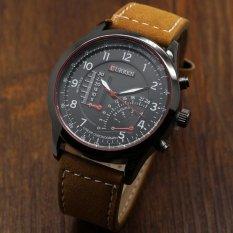 Đồng hồ nam dây da cao cấp Curren 3519 (Đen)