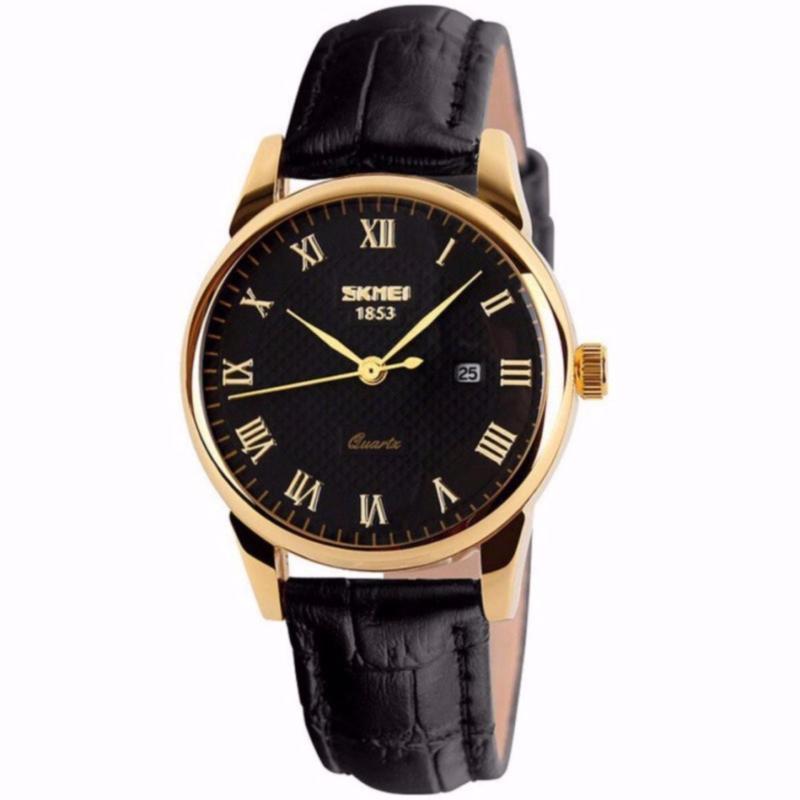 Nơi bán Đồng hồ nam dây da cao cấp, sang trọng SKMEI 1853 dây da