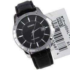Đồng hồ Nam dây da Casio MTP-V004L-1AUDF (Đen)