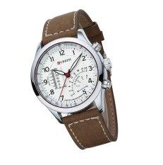 Đồng hồ nam dây da Curren CR1991 (Nâu)