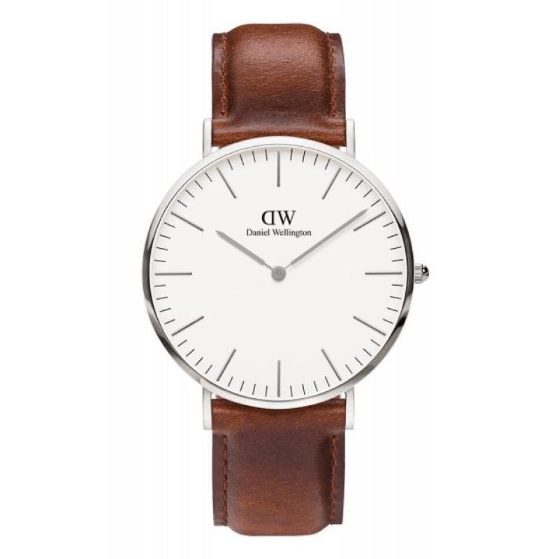 Nơi bán Đồng hồ nam dây da Daniel Wellington Mặt 40mm Classic St Mawes
