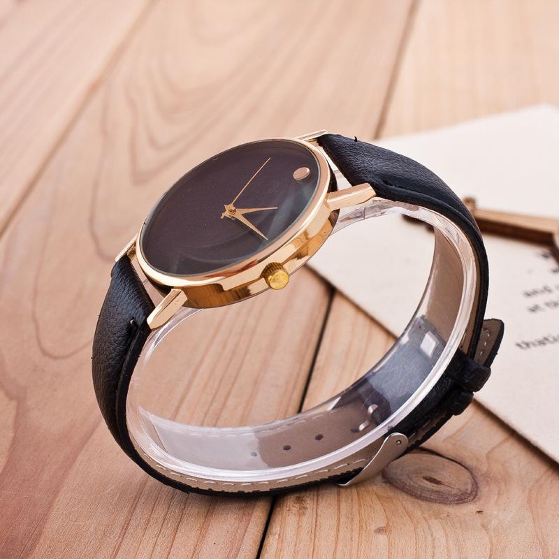Đồng hồ nam dây da Geneva 8962 (Dây nâu) + Tặng kèm voucher bảo hành IDMUASAM