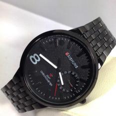 Đồng hồ nam dây thép đen cao cấp BAISHUNS 722