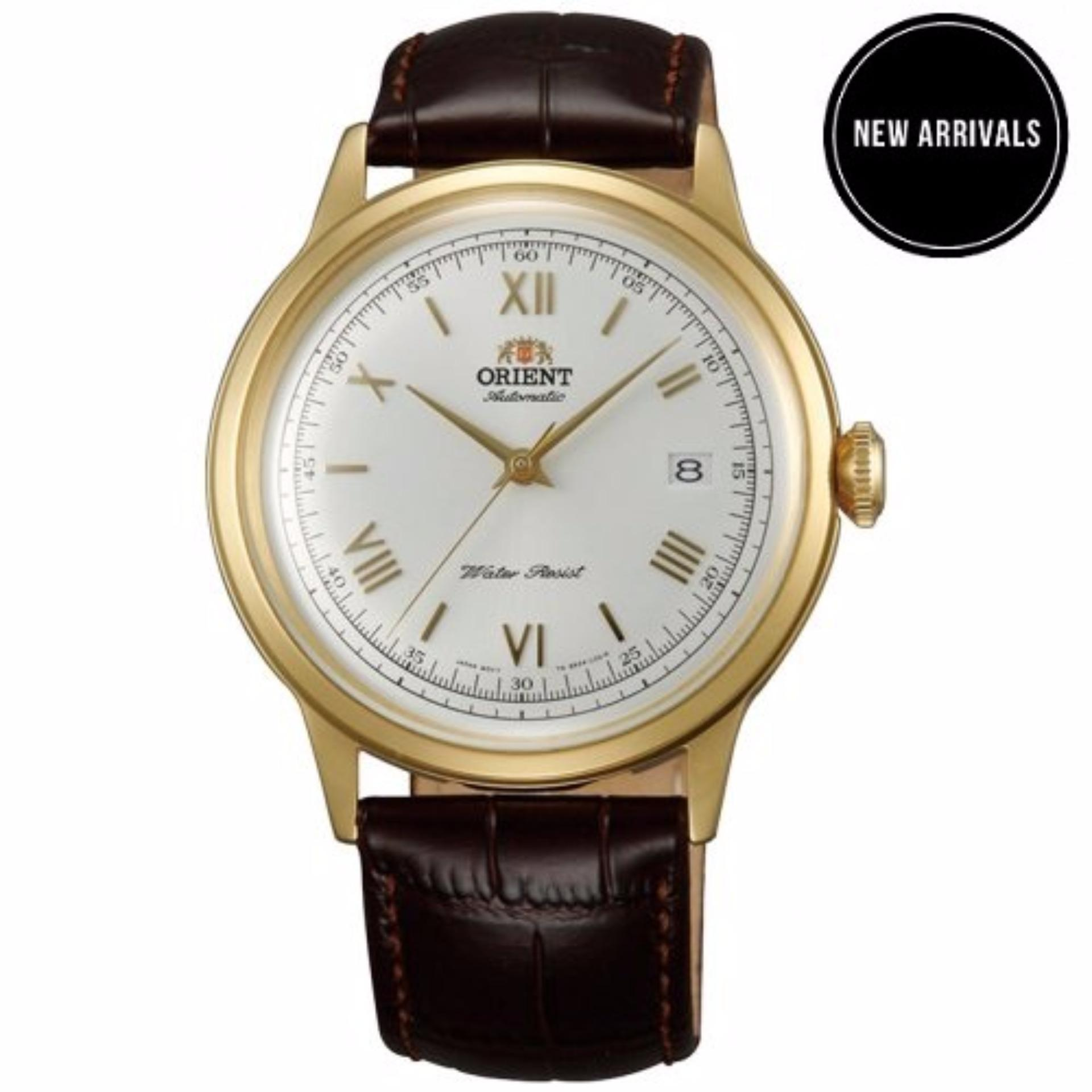 Đồng hồ nam dây da Orient Bambino 2nd Gen Version 2 FAC00007W0
