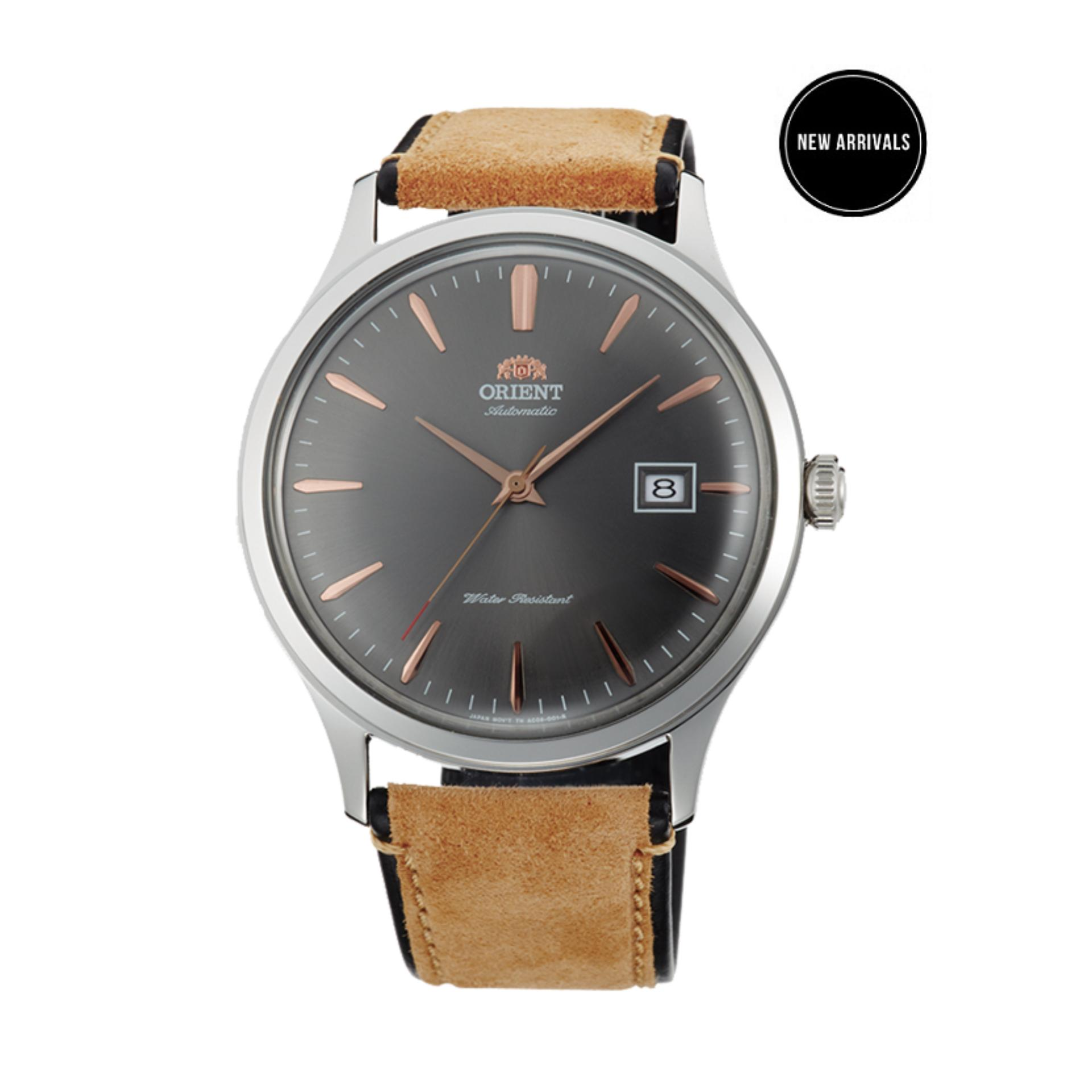 Đồng hồ nam dây da Orient Bambino Gen 4 FAC08003A0