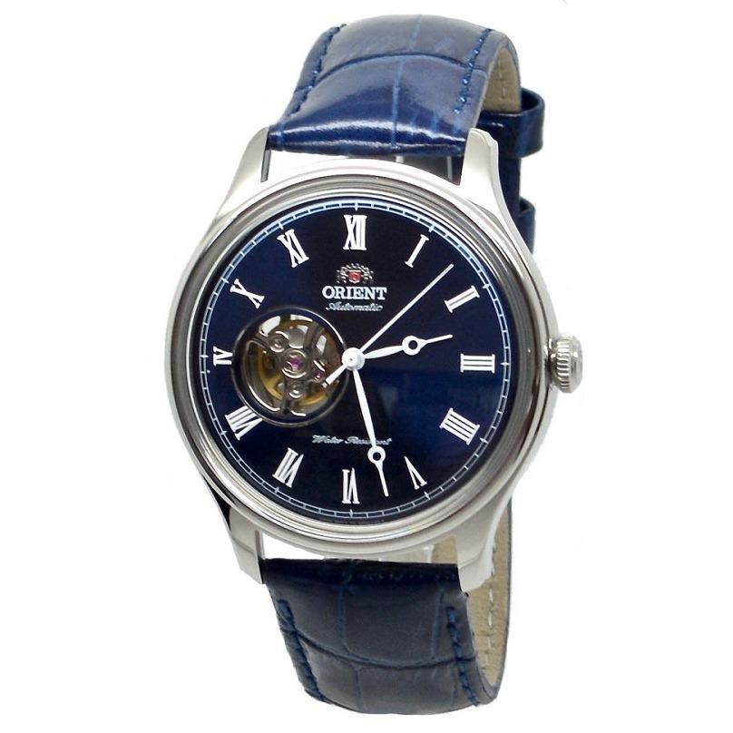 Đồng hồ nam dây da Orient Caballero FAG00004D0 ( Xanh dương)