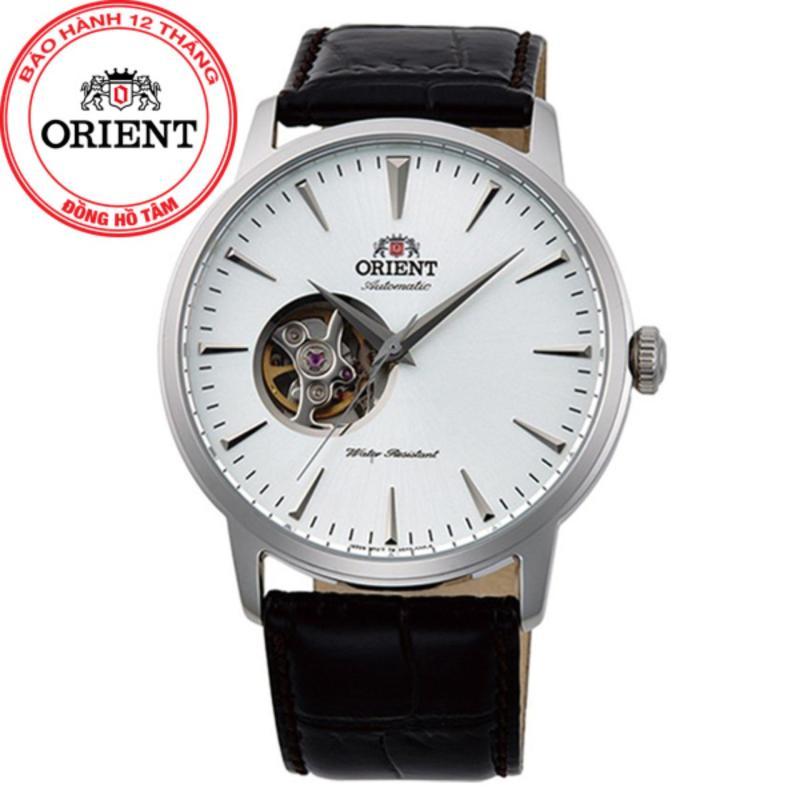 Nơi bán Đồng hồ nam dây da Orient FAG02003W0 (Vàng)
