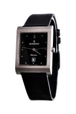 Đồng hồ nam dây da Romanson DL0581BMWBK (Đen)