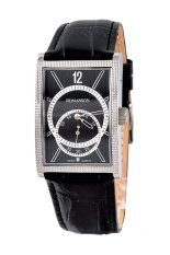 Đồng hồ nam dây da Romanson DL5146NMWBK (Đen)