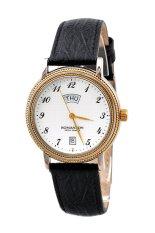Đồng hồ nam dây da Romanson TL0159MCWH (Đen)