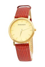 Đồng hồ nam dây da Romanson TL0161CMGGD (Nâu)