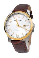Đồng hồ nam dây da Romanson TL0334MCWH (Nâu)