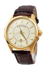 Đồng hồ nam dây da Romanson TL0337MGGD (Nâu)