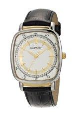 Đồng hồ nam dây da Romanson TL0352MCWH (Đen)