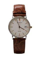 Đồng hồ nam dây da Romanson TL2626MJWH (Nâu)