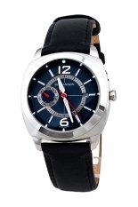 Đồng hồ nam dây da Romanson TL3220FMWGREY (Đen)