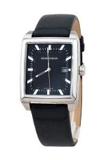 Đồng hồ nam dây da Romanson TL3248MWBK (Đen)