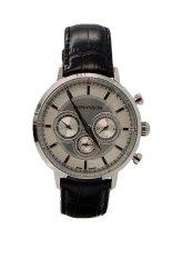 Đồng hồ nam dây da Romanson TL4262FMWWH (Đen)