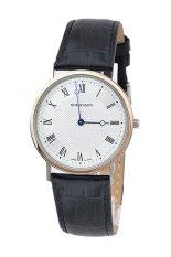 Đồng hồ nam dây da Romanson TL5110MJWH (Đen)