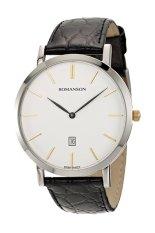 Đồng hồ nam dây da Romanson TL5507XCWH (Đen)