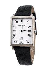 Đồng hồ nam dây da Romanson TL6522NMWWH (Đen)